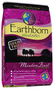 Earthborn Holistic Meadow Feast Grain Free Lamb Dry Dog Food