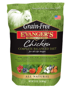 Evangers Grain Free Chicken Sweet Potato and Pumpkin Dry Dog Food