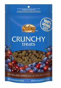 Nutro Natural Choice Crunchy Dog Treats with Real Mixed Berries