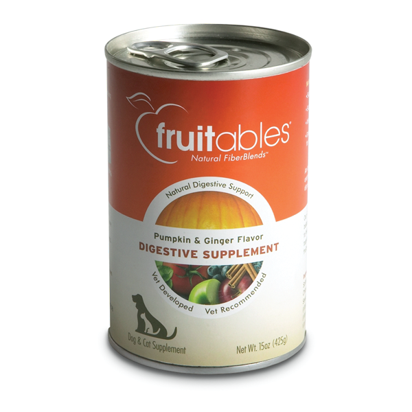 Fruitables Pumpkin Digestive Canned Supplement for Dogs and Cats