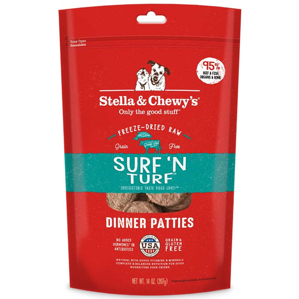 Stella & Chewy's Surf 'N Turf Freeze Dried Dog Food