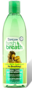 Tropiclean Fresh Breath Water Additive for Dogs and Cats