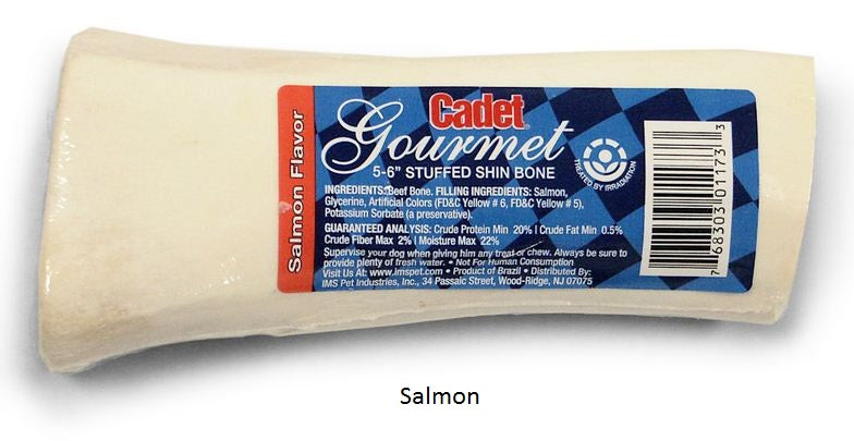 Cadet Gourmet Stuffed Medium Shin Dog Bone