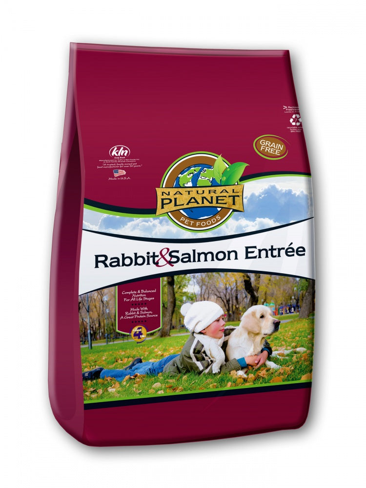 Natural Planet Rabbit and Salmon Entree Grain Free Dry Dog Food