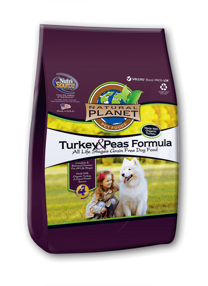 Natural Planet Turkey and Peas Formula Grain Free Dry Dog Food