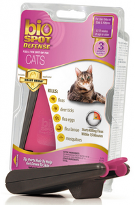 Bio Spot Active Care Flea and Tick Spot for Cats Less Than 5-lb