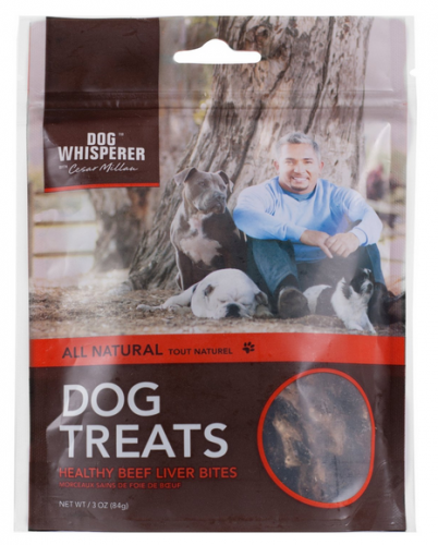 Cesar Millan All Natural Healthy Beef Liver Bites Dog Treats
