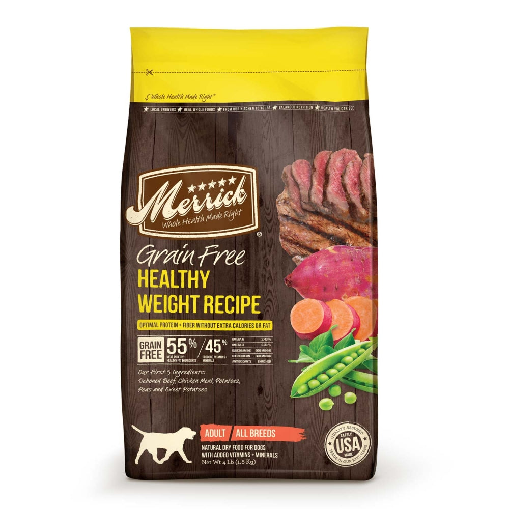 Merrick Grain Free Healthy Weight Recipe Dry Dog Food