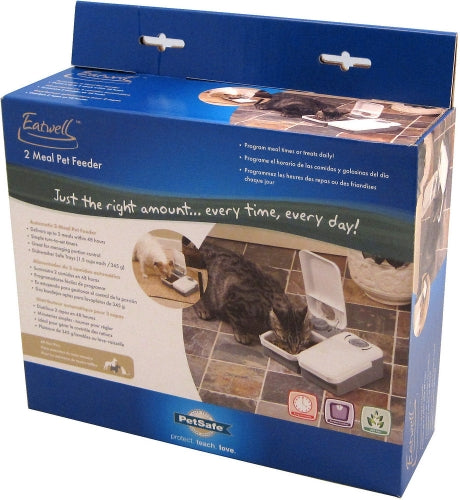 PetSafe Eatwell 2 Meal Automatic Pet Feeder
