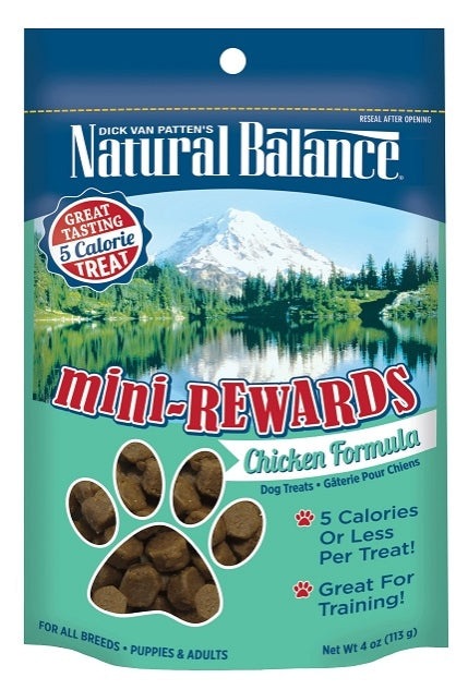 Natural Balance Mini-Rewards Chicken Formula Dog Treats