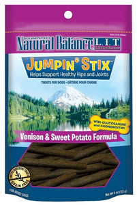 Natural Balance L.I.T. Limited Ingredient Treats Jumpin' Stix Venison and Sweet Potato Formula Dog Treats