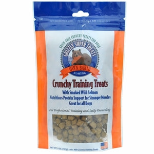 Grizzly Smoked Wild Salmon Crunchy Training Treats for Dogs