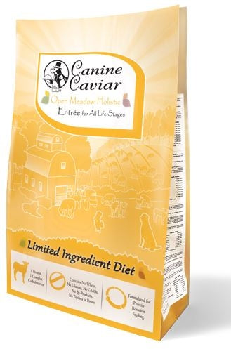 Canine Caviar Open Meadow Holistic Entree Dry Dog Food
