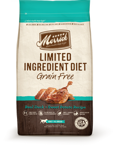 Merrick Limited Ingredient Diet Grain Free Real Duck and Sweet Potato Recipe Dry Dog Food