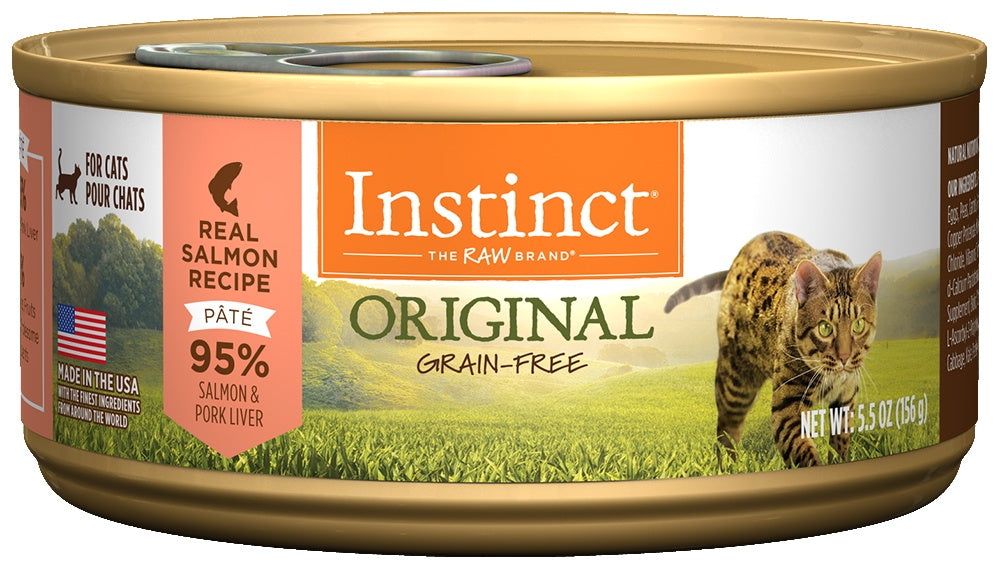 Nature's Variety Instinct Grain Free Salmon Formula Canned Cat Food