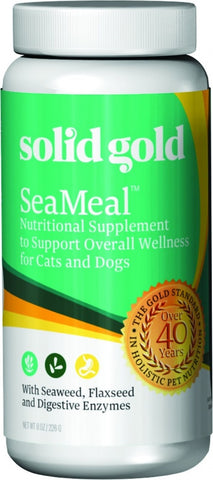 Solid Gold SeaMeal and Kelp Nutritional Supplement Powder for Dogs and Cats