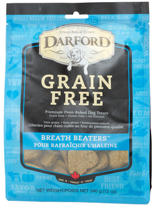 Darford Grain Free Breath Beaters Oven Baked Dog Treats