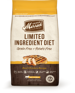Merrick Limited Ingredient Diet Adult Grain Free Chicken Recipe Dry Dog Food