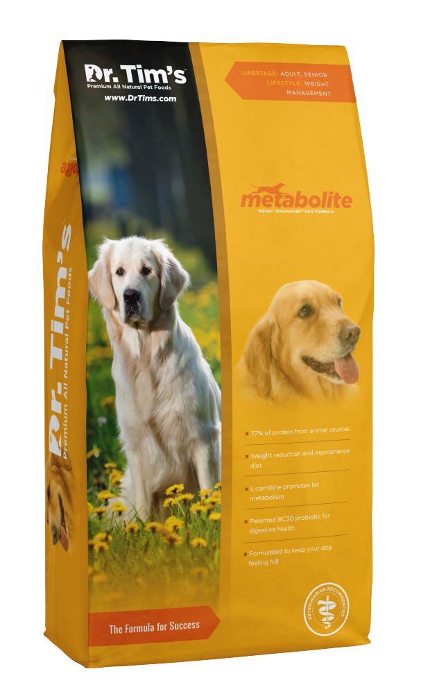 Dr. Tim's Metabolite Weight Management Formula Dry Dog Food