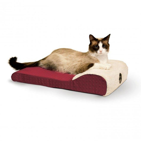 K&H Pet Products Ultra Memory Chaise Pet Lounger