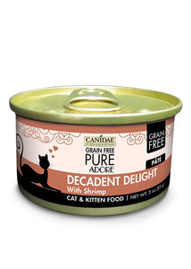 Canidae Grain Free PURE Adore: Decadent Delight with Shrimp Canned Cat Food