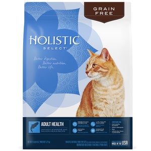 Holistic Select Natural Grain Free Anchovy and Sardine Meal Dry Cat Food