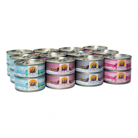 Weruva Classic Grain Free Frisky Fishin' Friends Canned Cat Food Variety Pack