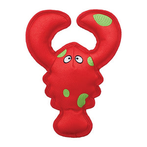 KONG Belly Flops Floating Lobster Dog Toy