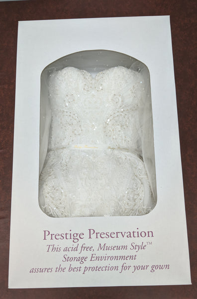 Wedding Gown Cleaning + Preservation