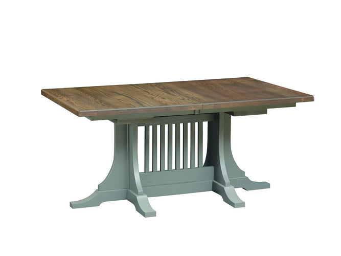 "Large Deluxe Dining Table w/ 4-12"" leaves"