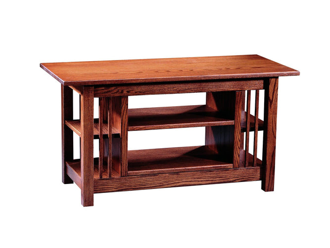 Entertainment Table w/ Adj. Shelf
