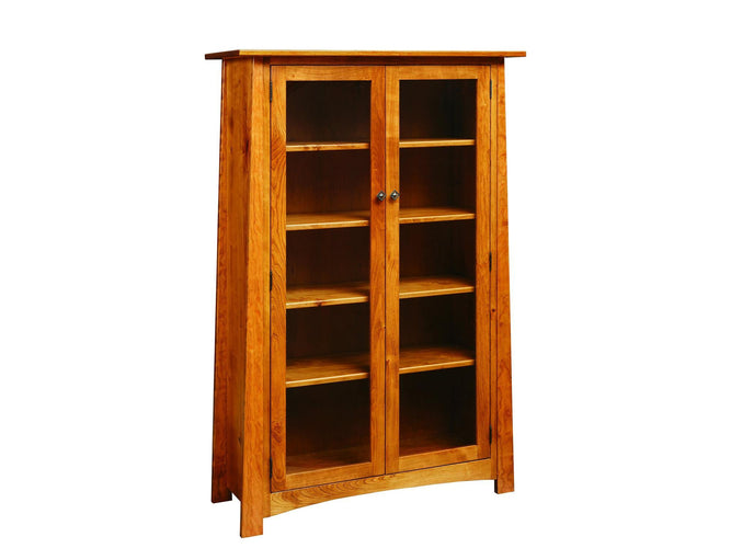 Bookcase w/ Glass Doors