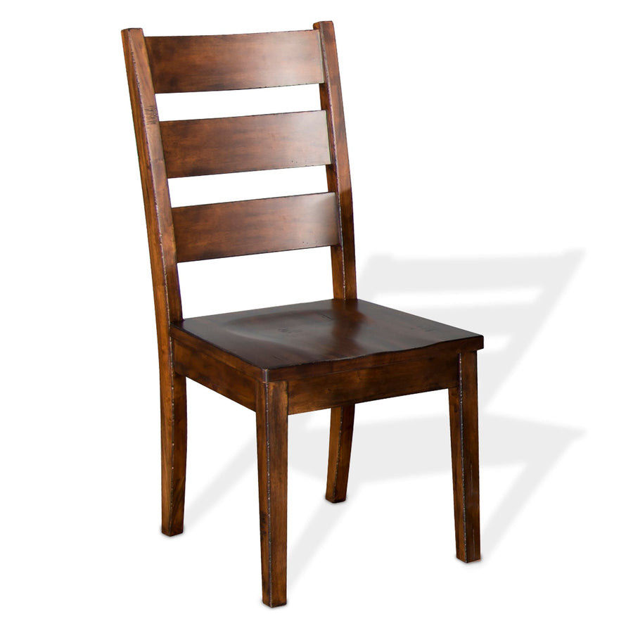 Tuscany Ladderback Chair w/ Wood Seat