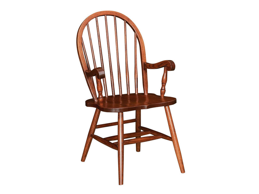 Bow Back Arm Chair (Not available w/Leather seats)