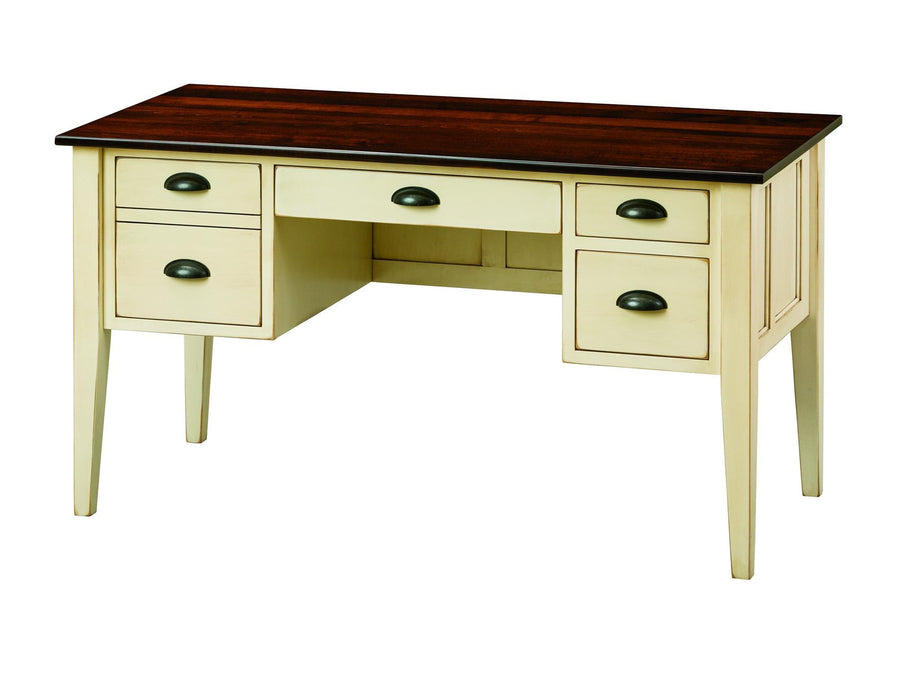 55'' Executive Desk with File Drawer