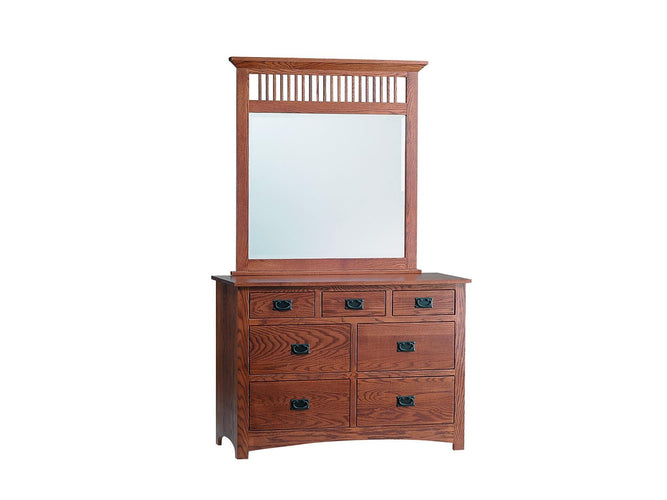 Mission 3 Drawer Night Stand With Locking Slideout Top