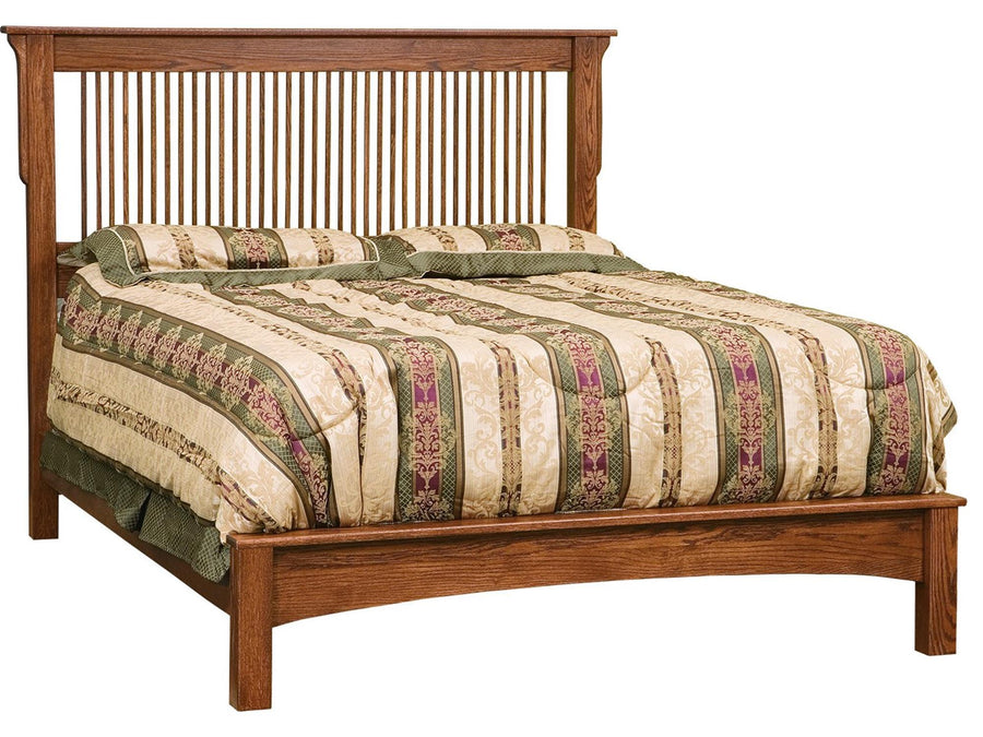 Queen Bed w/ Low Profile Footboard