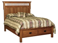 Deluxe Full 2 Dr. Captain Bed