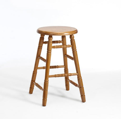 Chestnut Backless Counter Stool