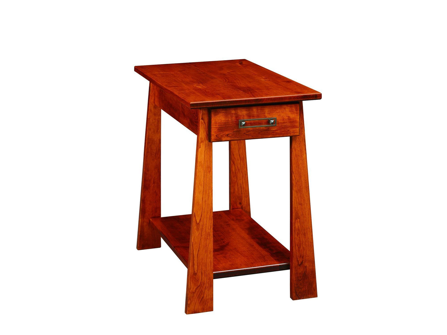 Country Value Craftsmen Chairside Table W Drawer