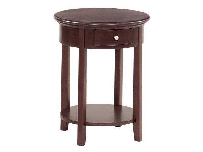 "Round Side Table (19-1/2""D)"