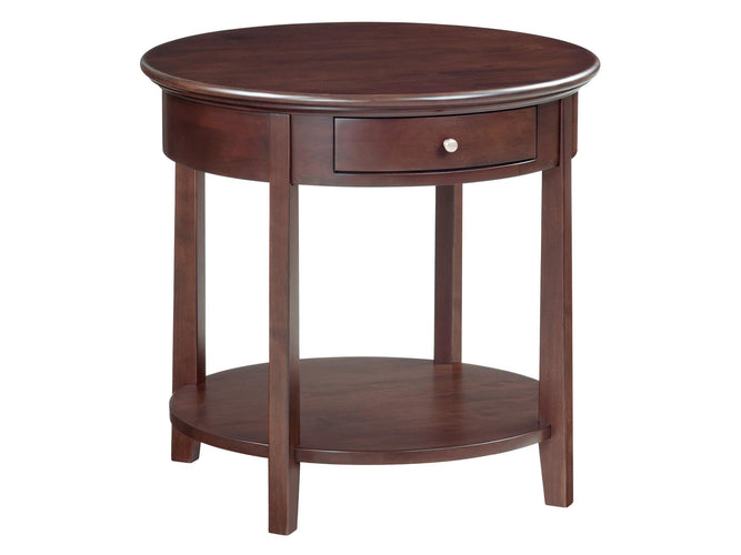 "Round End Table (26""D)"
