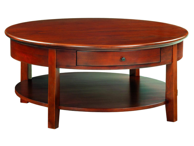 "Round Cocktail Table (40""D)"