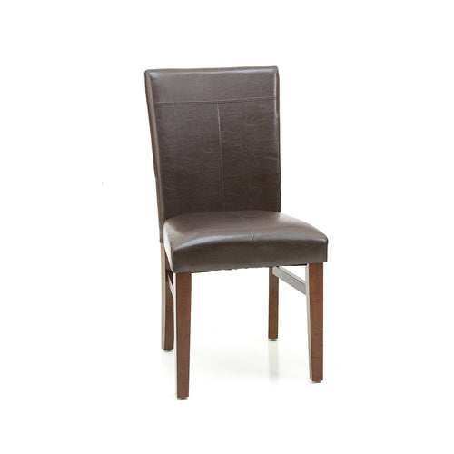 Parsons Side Chair | Raisin