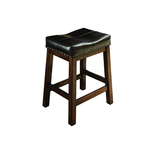 Backless Counter Stool | Raisin