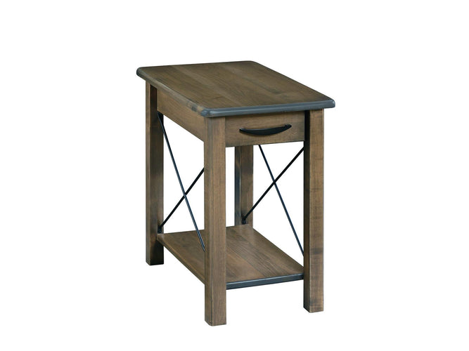 Crossway Chairside Table with Drawer