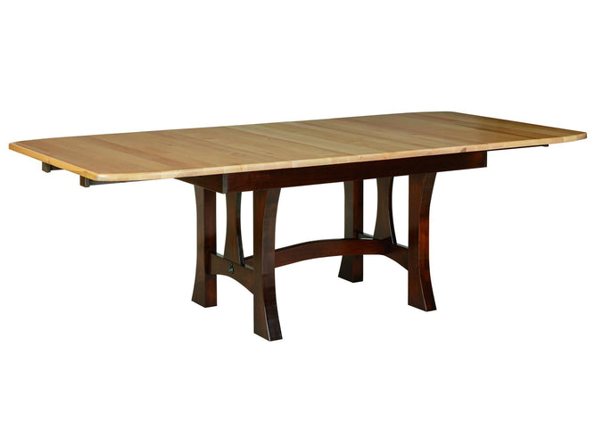 "Dining Table w/ 3-12"" Self Storing leaves"