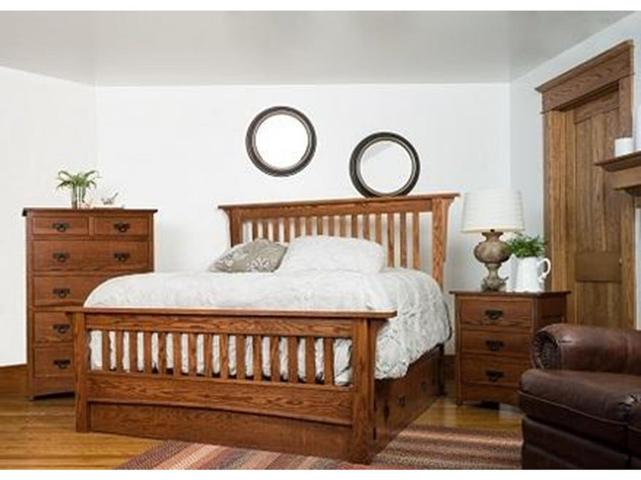Old Mission Slat Bed