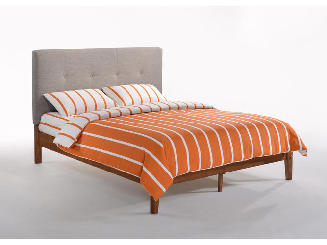 Paprika Full Bed Grey Frame (K Series)