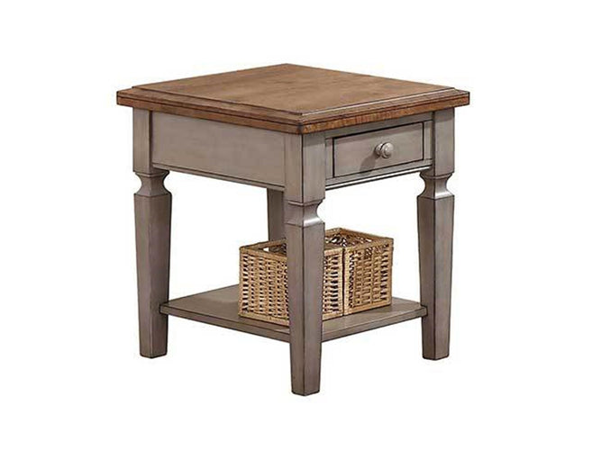 "1-Drawer 18"" End Table"